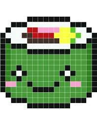 Pixel Art Kawaii Glace