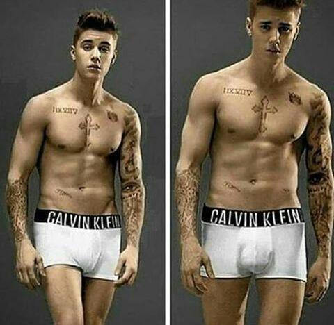 Quanto è grande Justin biebers pene
