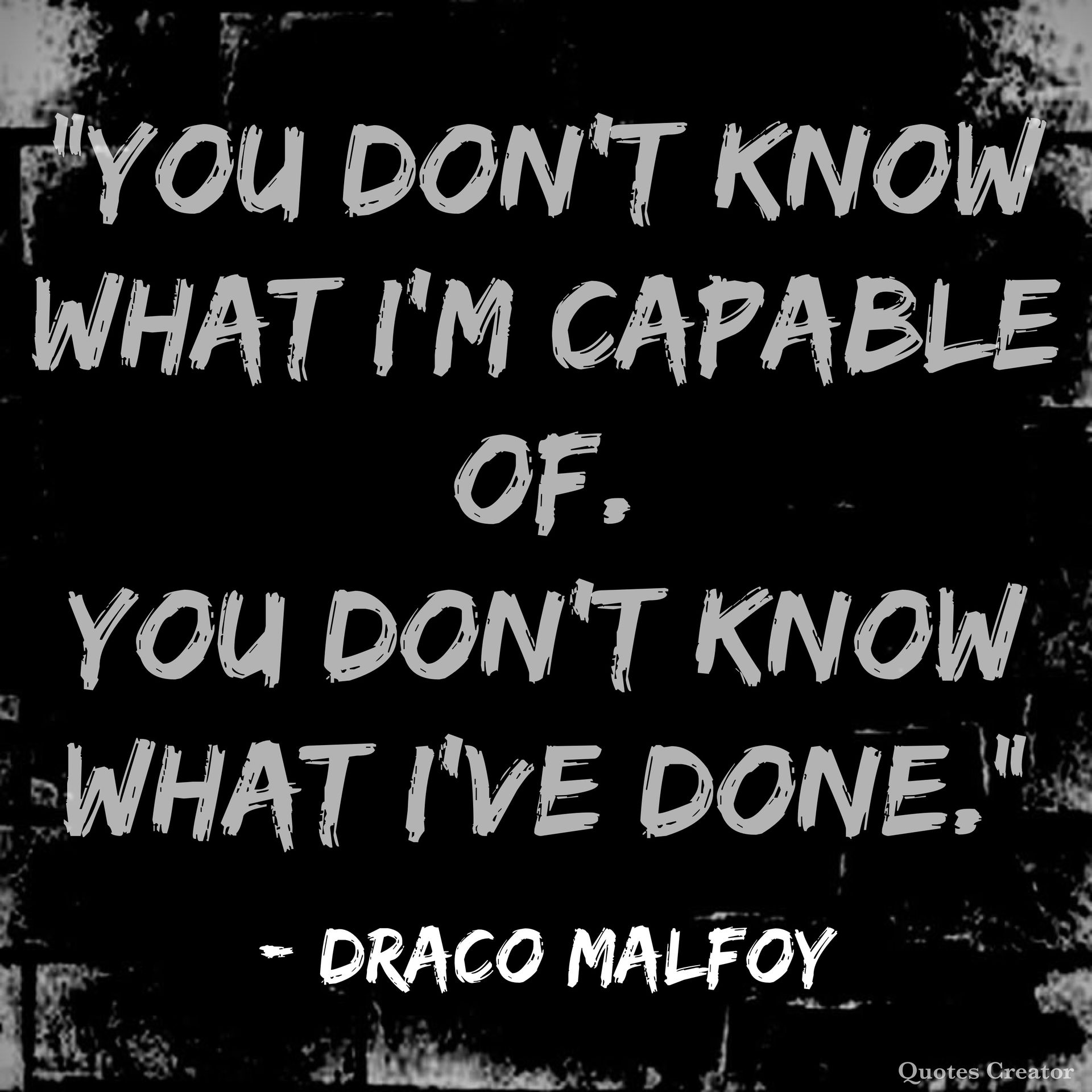 everything harry potter ⚡️ no said draco malfoy quotes