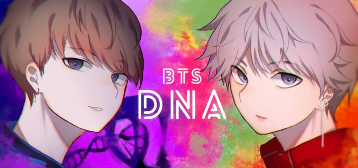 BTS Cartoon Photos Fanart