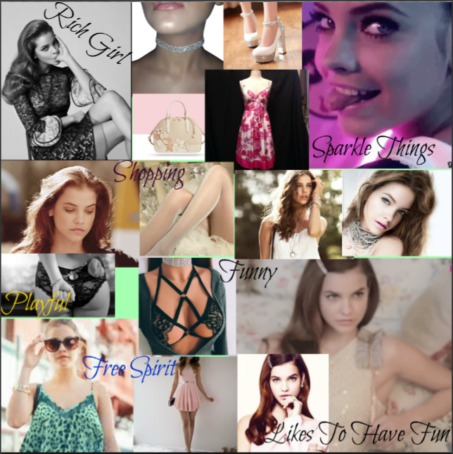 (Likeness of Model Barbara Palvin )