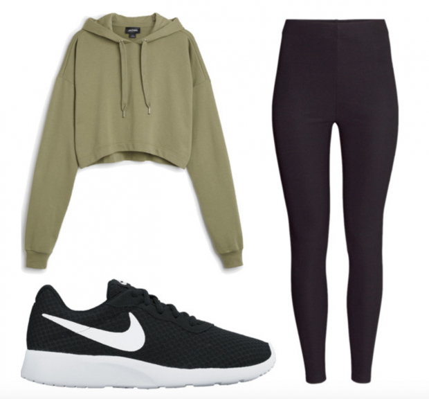 The next day Y/N wakes up and wears a comfortable outfit to wear (change colour or outfit if you want)