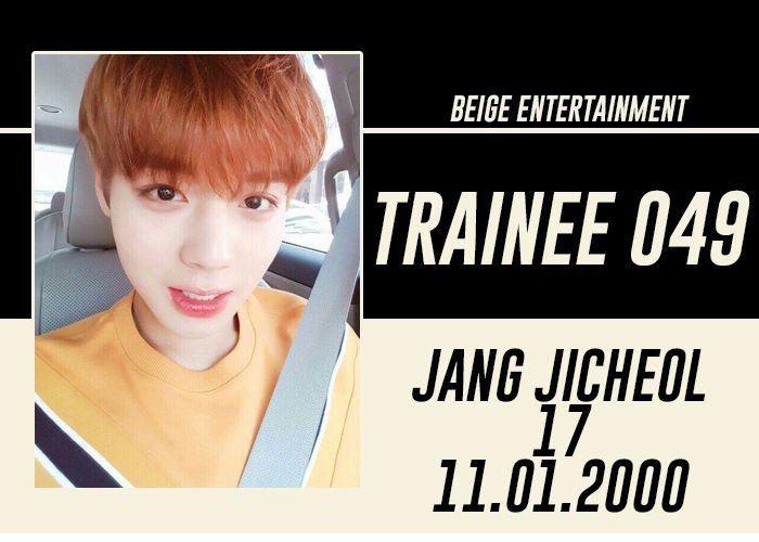 FULL NAME: Jang Ji Cheol