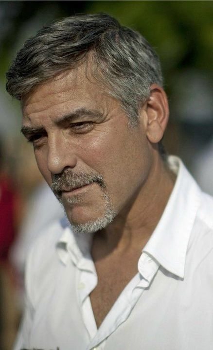 George Clooney as Dominic Eastwood's Father,Dexter Eastwood