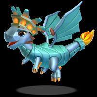 Dragon Mania Legends Beastiary 2 Liberty Dragon Wattpad
