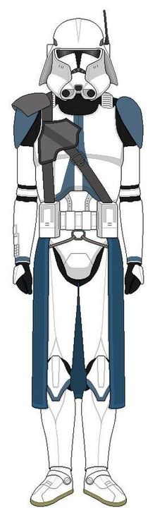 """Cop: *Salutes* """"Sergeant Cop from the 501st Tactical Heavy Weapons Unit, Ready to go full-bore sir!"""""""