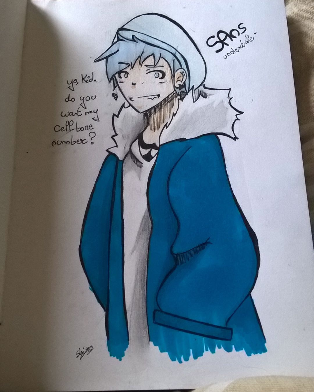 Sketchbook Mon Carnet De Dessin Sans Undertale Wattpad