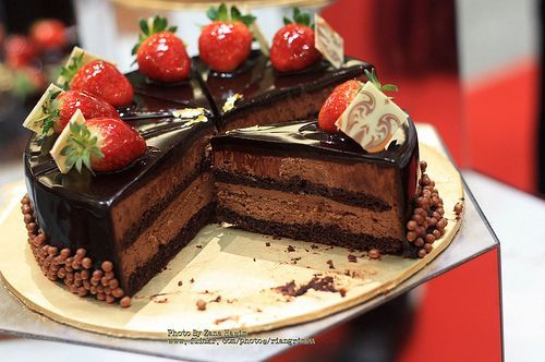 Вкусненький тортик с фото