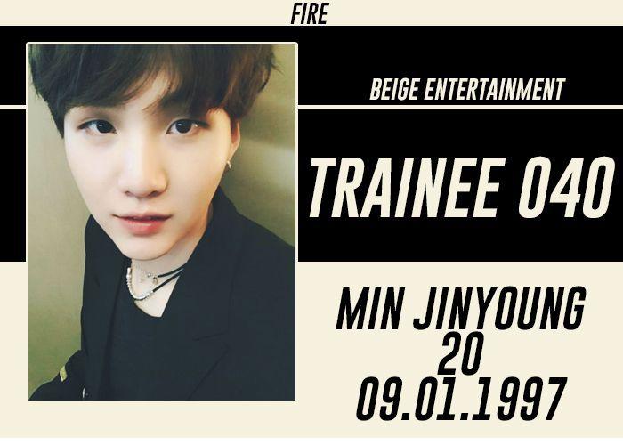 FULL NAME: Min Jinyoung