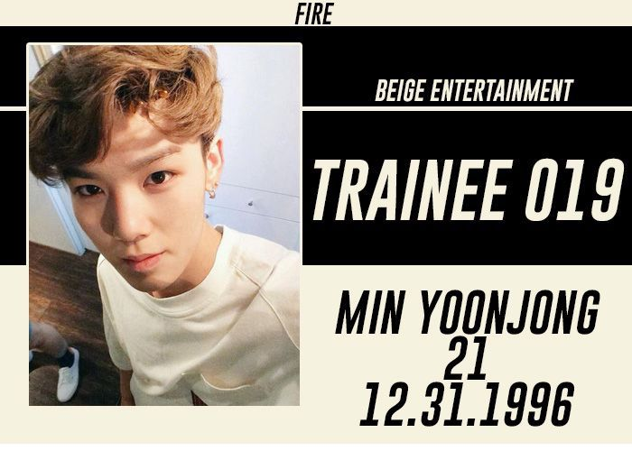 FULL NAME: Min Yoonjong