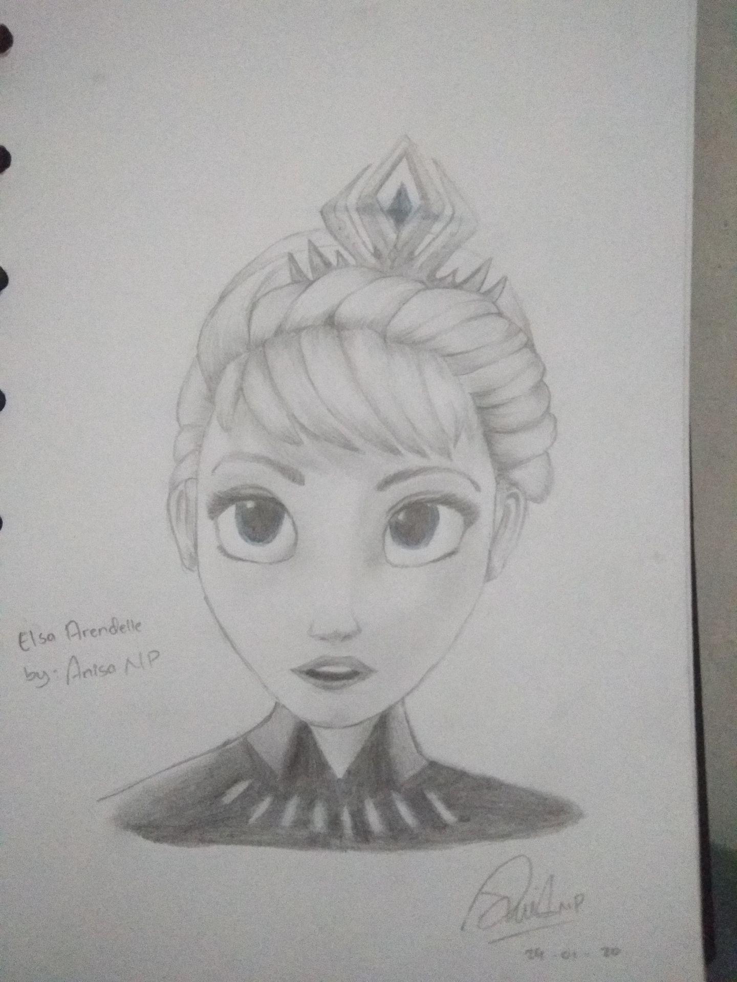 Mein Skizzenbuch Art Book Elsa Frozen Wattpad