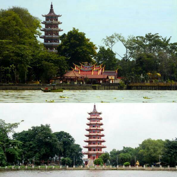 Di Pulau Kemaro terdapat sebuah vihara yang banyak didatangi oleh umat Buddha untuk berdoa dan berziarah
