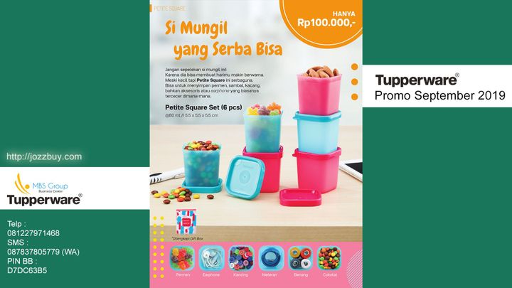Katalog Tupperware Bulan September 2019