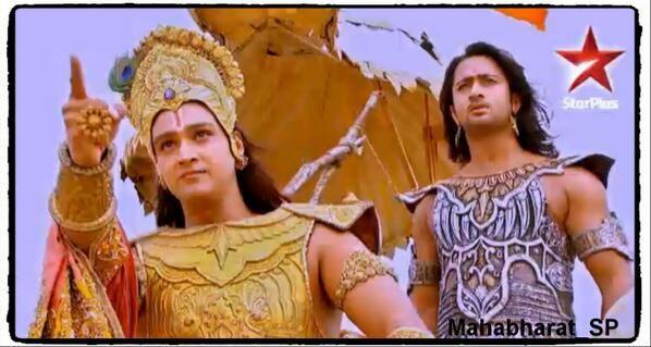 The Kurukshetra War Season 1 Completed Episode 7 Krishna Wields Sudharshan Chakra On Day 3 Wattpad