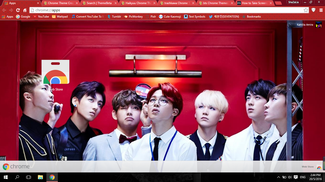 Google themes got7 - Ok But Today I Wasted Time By Playing Around With Google Chrome S Settings And I Found