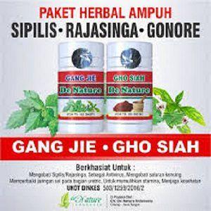 Dengan bahan tumbuhan khas pengobatan penyakit kelamin dan di kemas lebih praktis dalam cangkang kapsul label Halal dari MUI, serta sudah terdaftar di BPOM