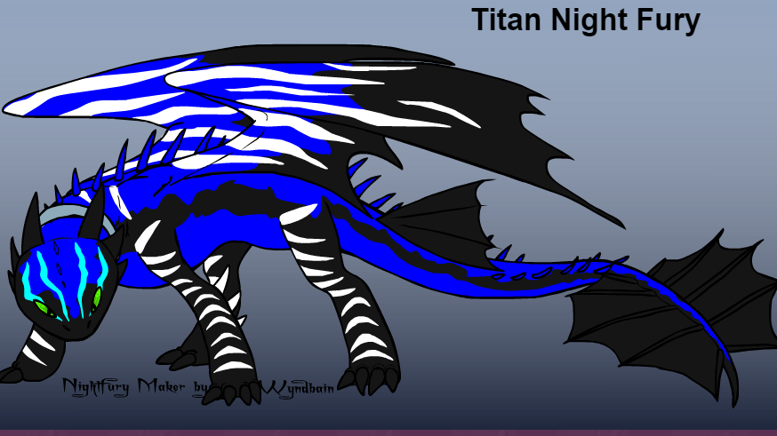 Thoughts On The Idea Of A Titan Night Fury School Of Dragons How To Train Your Dragon Games