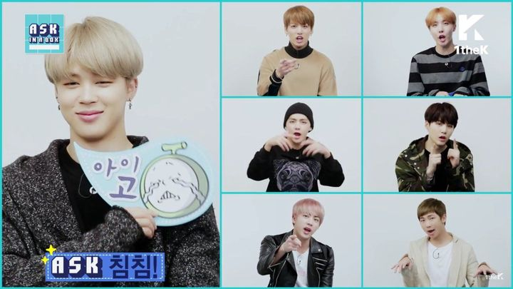 BTS FACTS - ASK IN A BOX: BTS(방탄소년단) 'Blood Sweat