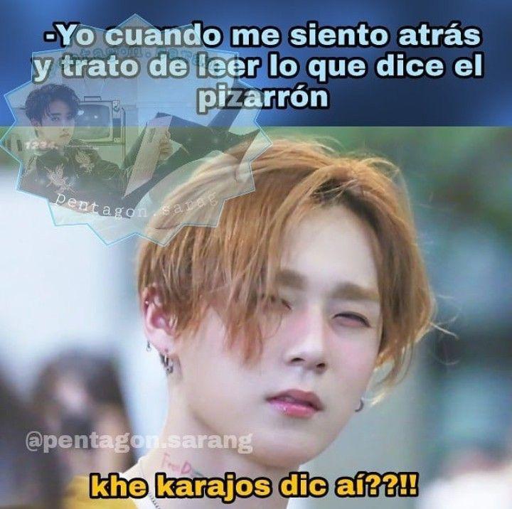 K Pop Memes Espanol E Ingles Pentagon Wattpad