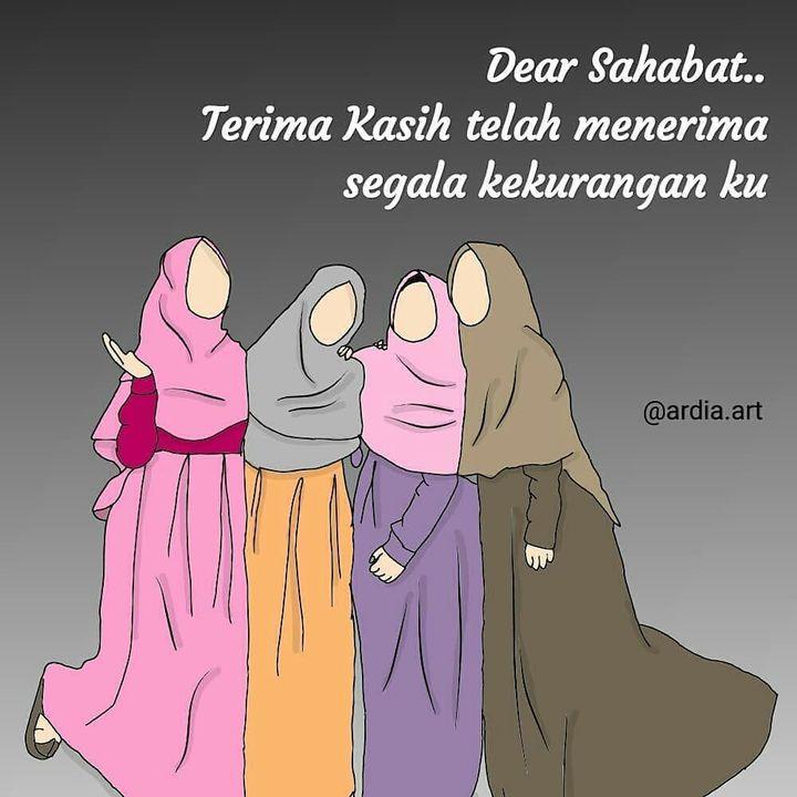 Gambar Muslimah Qoutes Sahabat Wattpad