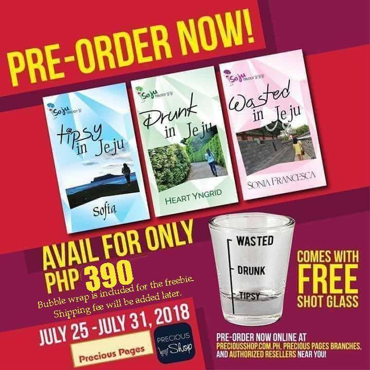 Sa mga di makakapunta sa Soju Party sa August 5, here is your chance to get a freebie of our books with signature