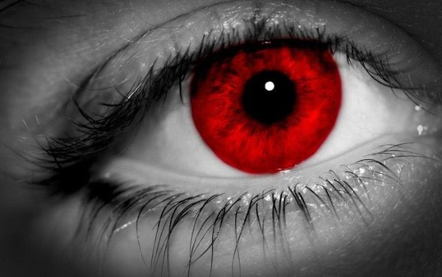 Eye colors Vampires:Bright Red