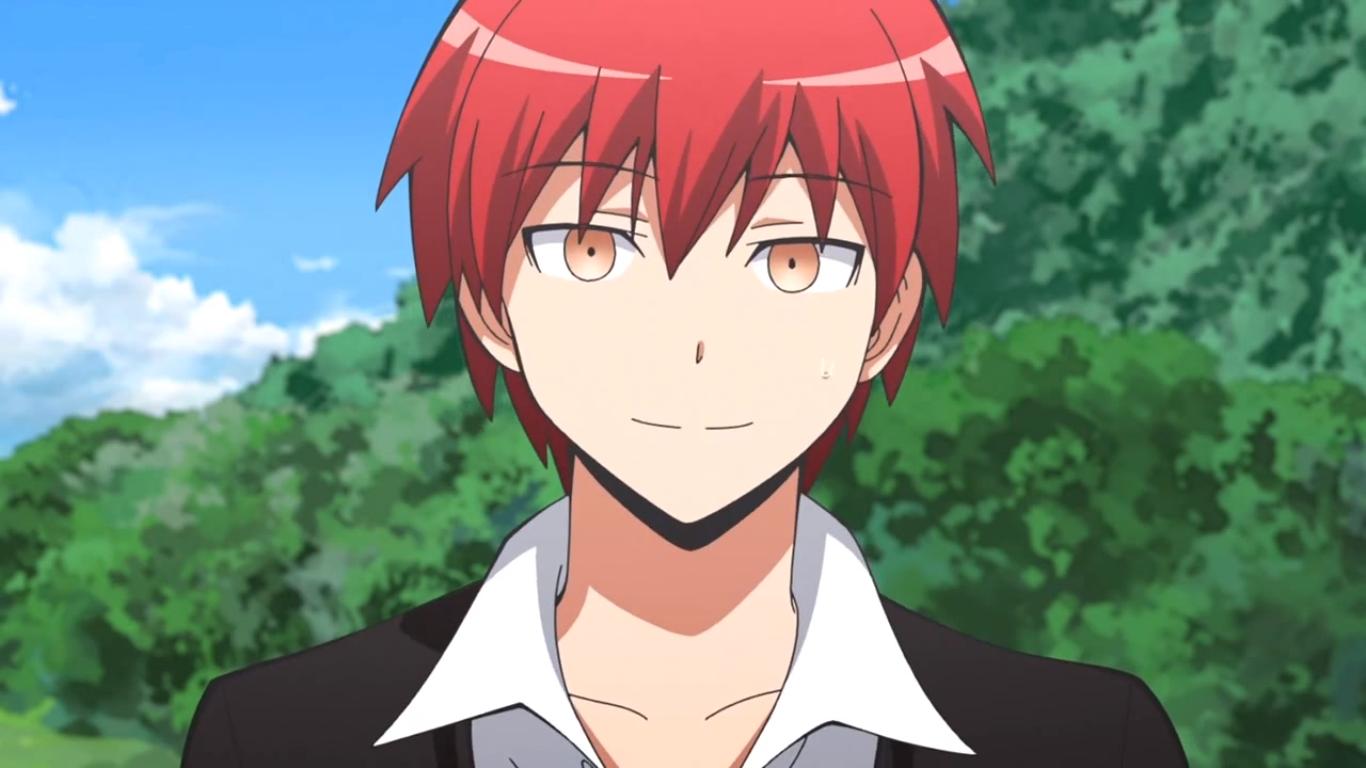 Nom : ShiotaPrénom :  NagisaAutre :  Il note tous les points faibles de koro-sensei sur son petit carnet