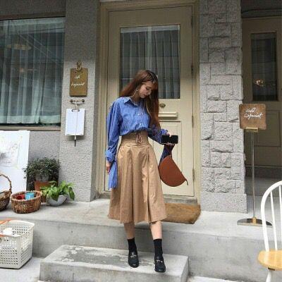Eun Jae is seriously wearing Jin's shirt and Jimin's shoes 😂😂