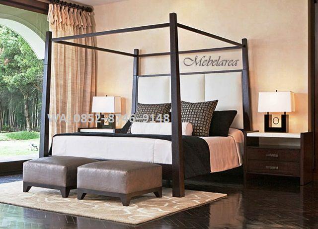 Jual tempat tidur kayu jati WA: 0852–8746–9148