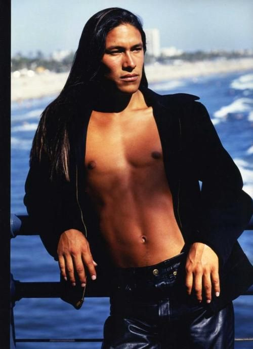 Sexy native american male