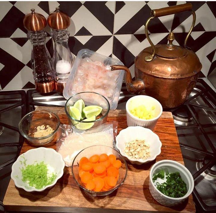 DianaPierce:Guesssssss What's cooking at Casa Pierce!
