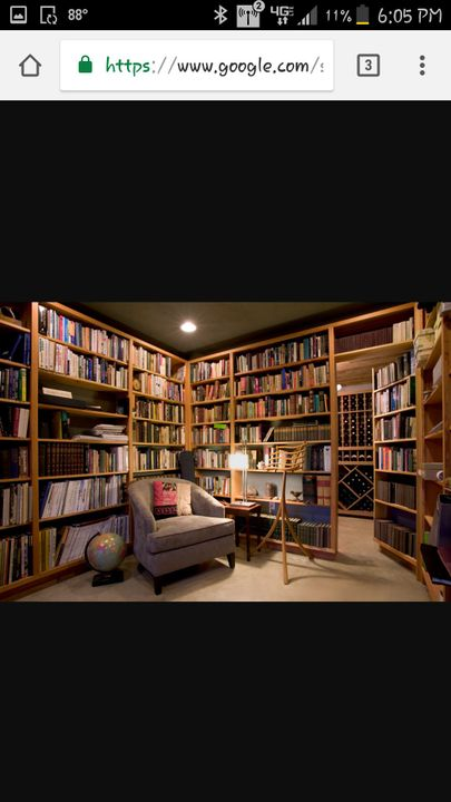 I put my clothes up and then I bring in the boxes with some of my books