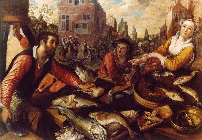 The Salt Market stank of fish