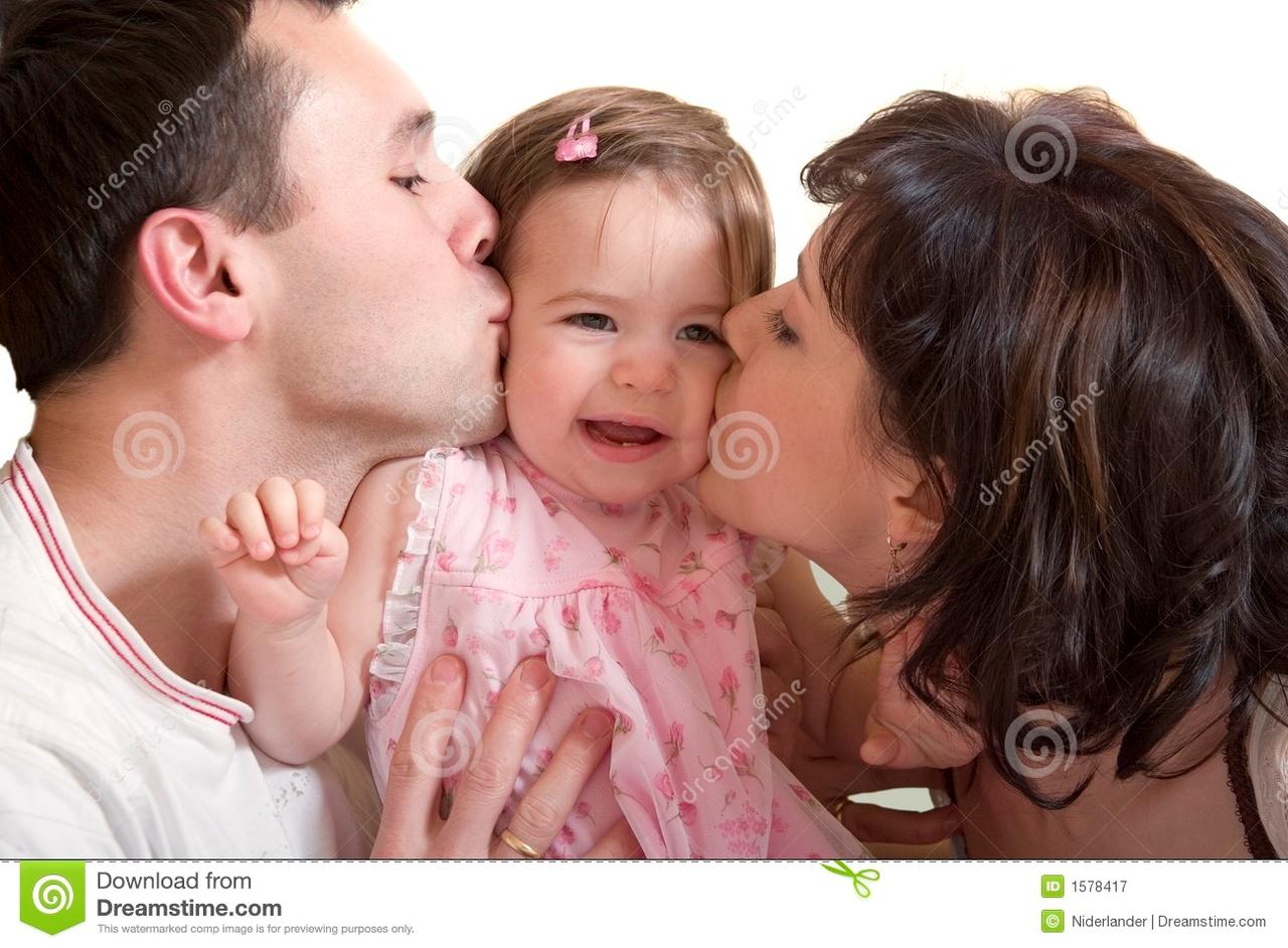 both rikara kisses her cheeks: