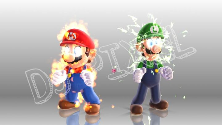 DJ Pixel's Art and Stuffs - [MMD] Mario and Luigi - Wattpad