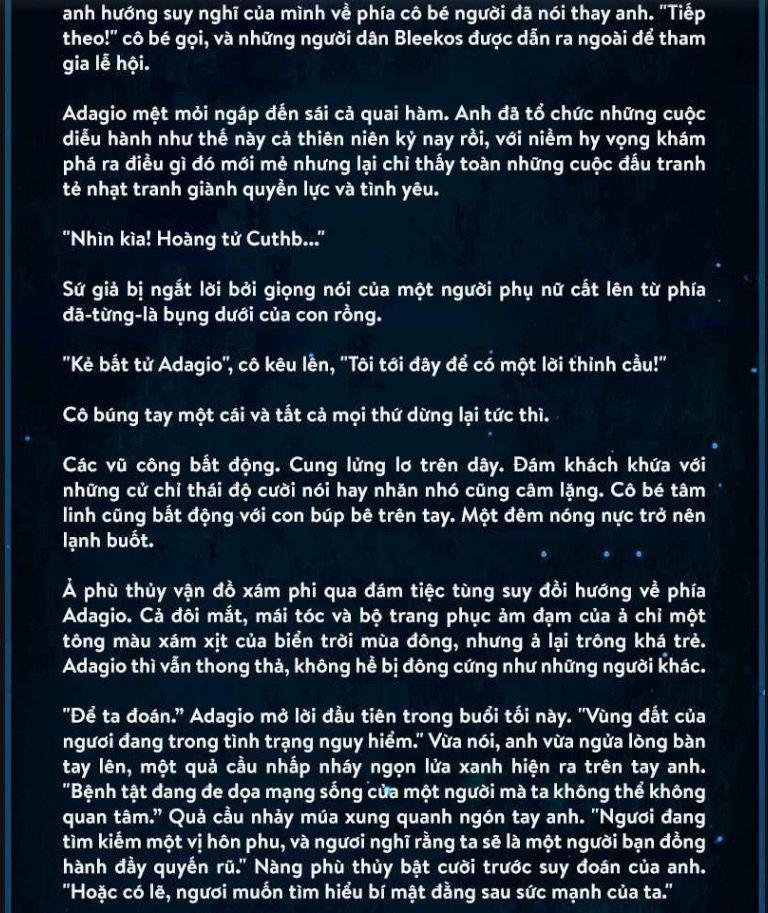 Đọc Truyện Vainglory Lore - #4: [Dark Parade Adagio Lore] Truyền thuyết về  Dark Parade Adagio - kawaii bunny 🐰 - Wattpad - Wattpad