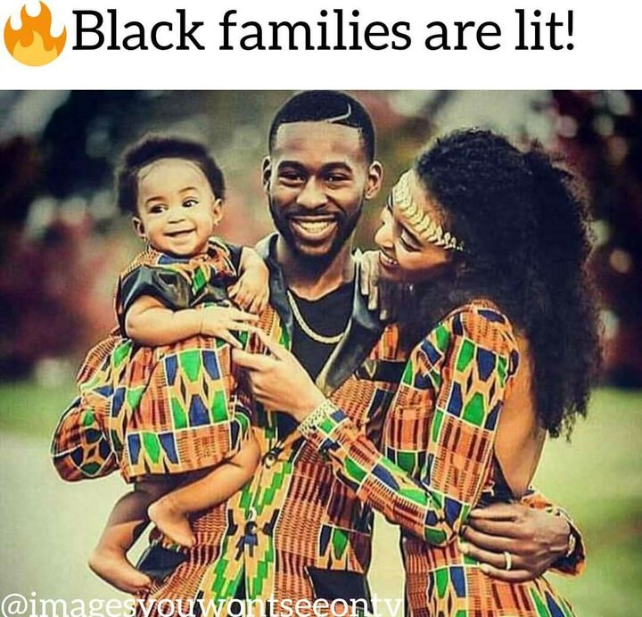 They tryna play us like there arent some black familes around any more like No every family isnt dysfunctional