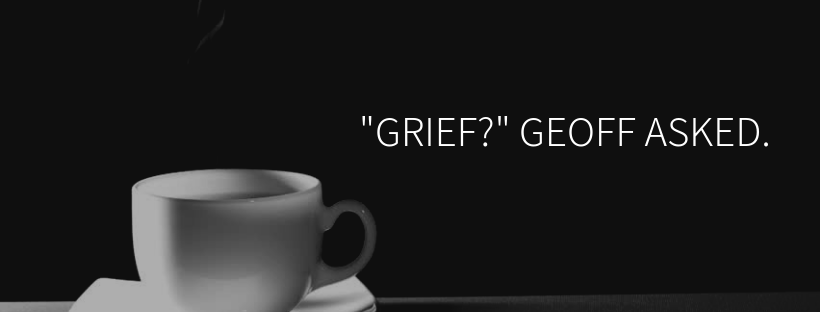"""""""Grief, for the loss of your cat"""