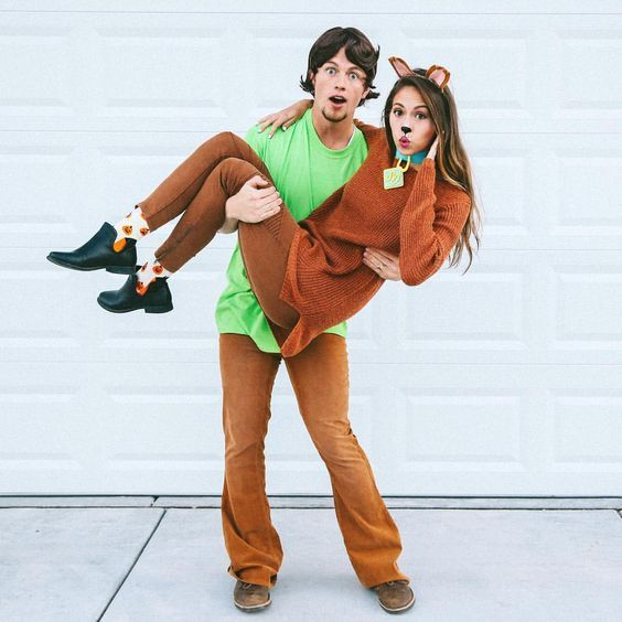 Shaggy and Scooby-Doo
