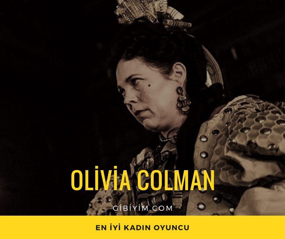 "Olivia Colman, ""The Favourite"""