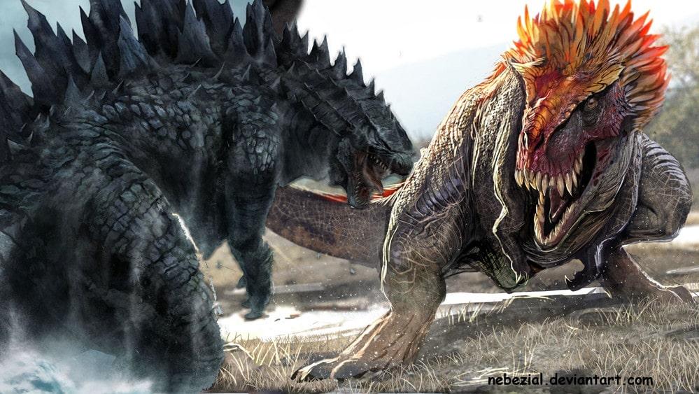 Aku Dan Sang Gadis Bermata Indigo Part 7 Godzilla And
