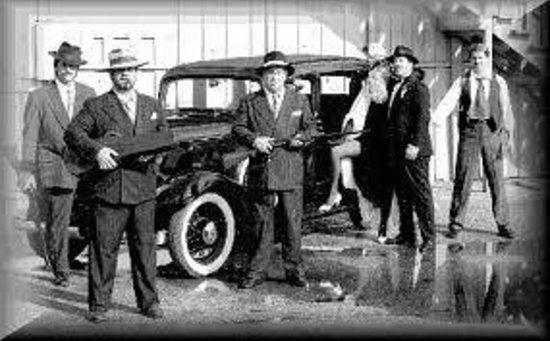 Guarda costa de Al Capone na época da Lei Seca