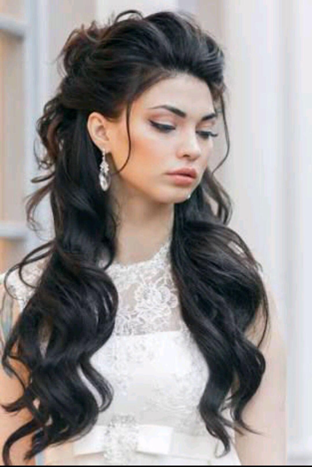 Фото длинной прически густой волос