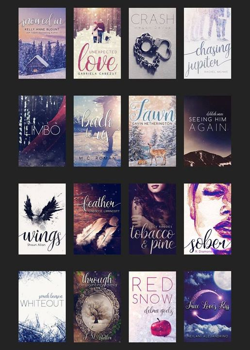 All of the covers below were also designed by LucyFace! She did an incredible job! Which cover is your favorite?