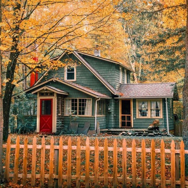 Seeing the house exactly as how I remember it brings some kind of relief, my shoulders just a little less tense as I my body deflates into the worn passenger seat when I let go of the breath I didn't know I was holding