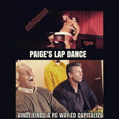 Wwe Paige Lap Dance