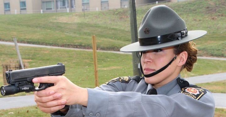 Credit: Photo of a female PA State Police Trooper from website: www