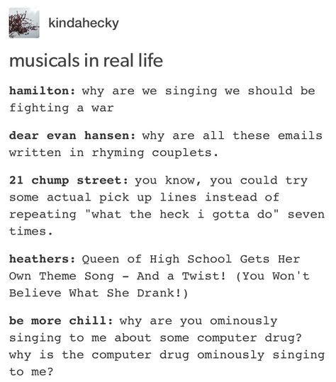 Musical Trash What I Gotta Do 21 Chump Street Wattpad