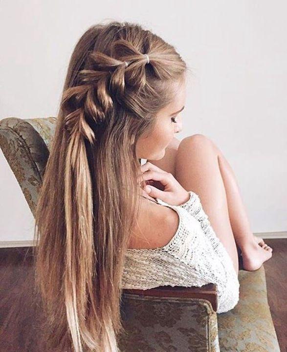 Peinados Tumblr 2018 Cabello Largo Peinado