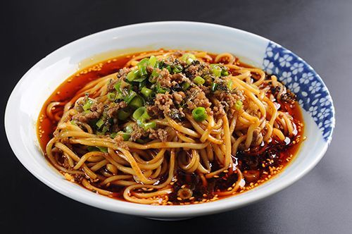 Sichuan noodle - super spicy and I swear I never be able to finish half of that bowl T